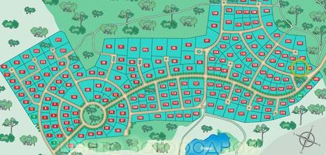 схема поселка подъезды и вода