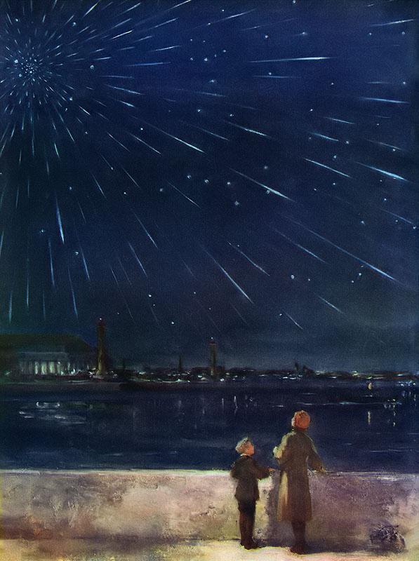 звездный дождь в ленинграде